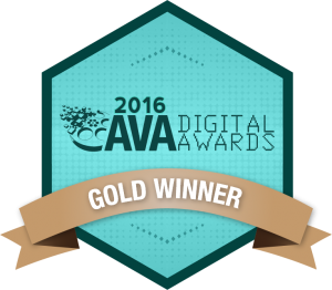Pulse Design Studio Wins a 2016 Gold AVA Digital Award for PowerPoint Design!