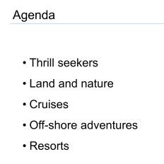 Appealing Agenda PowerPoint Presentations