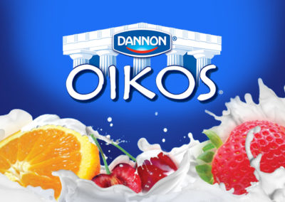 Dannon Oikos Event Marketing